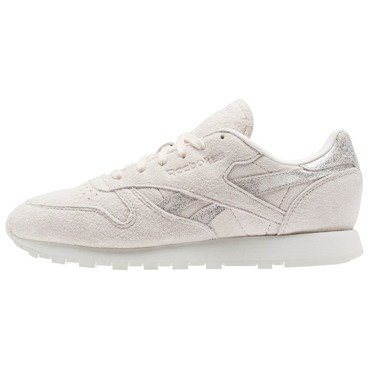 Buty damskie Reebok Classic Leather Shimmer Pale Pink/Matte Silver BS9865