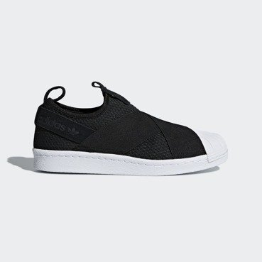 Buty damskie adidas Superstar Slip-On Black B37193