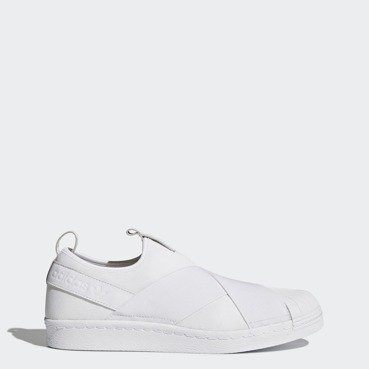 Buty damskie adidas Superstar SlipOn White BZ0111