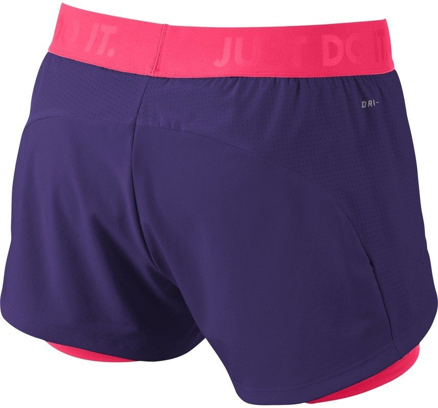 Spodenki NIKE CIRCUIT 2 IN 1 WVN SHORT 589426 547